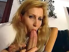 Blond mature gets assfuck