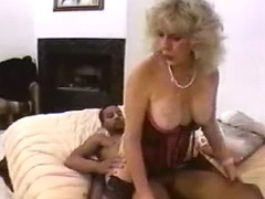 Lustful grandma gets poked by nigga
