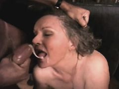 Elder mature has anal fuck w blacky n gets facial