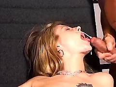 Secretary gets cumload