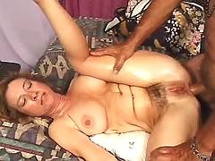 Milf spreads for big cock