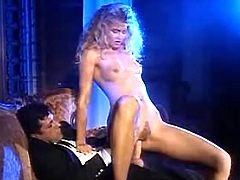 Fantastic blonde making ardent love