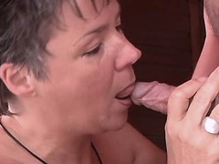 Aged depraved mature gets pussylicking and fucks